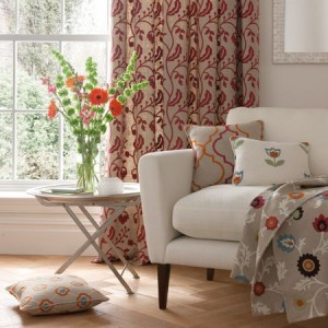 quality hand made curtains and soft furnishings
